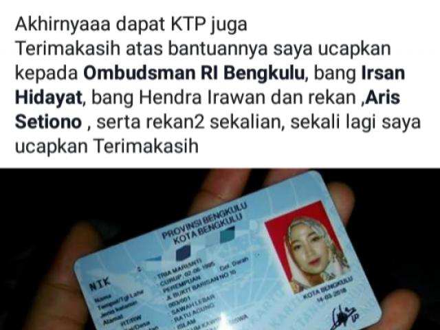 Menangis Saat Melapor Ke Ombudsman Mahasiswa Bengkulu Ini Sekarang Dapat Tersenyum Ombudsman Ri
